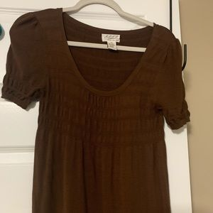 Ladies Max Studio sweater dress in brown size xs
